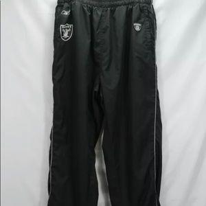 Raiders Men's mesh lined track pants XL